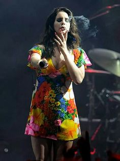 Lana at Coachella (2nd show) #LDR