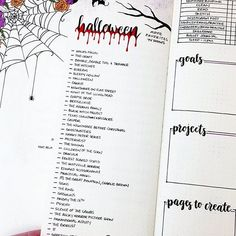 bullet journal octobre Sooo I forgot to post this one haha! I had made a Halloween movie list a while ago, but I'm not going to lie, I have pretty much just been watching Hocus P Online Bullet Journal, Bullet Journal Notes, Bullet Journal Hacks, Bullet Journal Ideas Pages, Bullet Journal Inspiration, Book Journal, Bujo, Movie Bullet, Bullet Journal Halloween