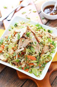 Ginger Sesame Chicken Salad Recipe