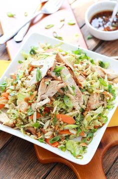Ginger Sesame Chicken Salad Recipe