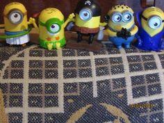 Minions Original Toys (McDonalds) (5) | Toys - Indoor | Gumtree Australia Dalby Area - Bell | 1100904663 Mcdonalds, Minions, Indoor, The Originals, Toys, Interior, Activity Toys, The Minions