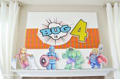 lego superhero birthday party   Grey House Harbor