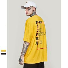 Streetwear is a style of casual clothing which became global in the hip hop, punk and Japanese street fashion. Eventually haute couture became an influence. T Shirt, Shirt Men, Shirt Print Design, Tee Shirt Designs, Top Streetwear, Streetwear Brands, Hypebeast, Japanese Street Fashion, Hipster Outfits Men