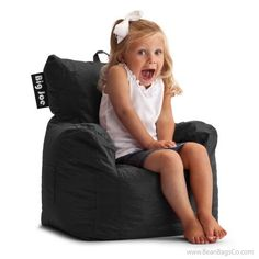 Comfort Research - Big Joe Cuddle Chair - Stretch Limo Black | ON SALE: $53.99 - Free Shipping + No Sales Tax