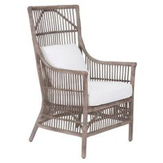 Jeffan Winston High Back Dining Arm Chair - WR-WS105-GR