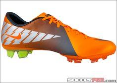 orange cleats :)