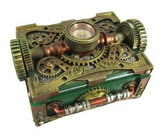 Steampunk Trinket with Compass