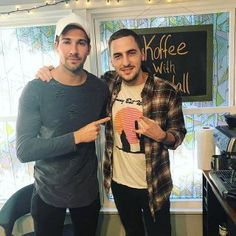 Kendall Schmidt And James Maslow Hold Mini-Reunion In Latest Koffee With Kendall Episode   Big Time Rush