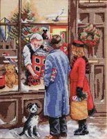 Ёлочные игрушки, юбочки под ёлку, сапожки, открытки...
