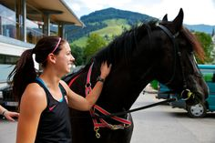 Baby Horse and horse, Austria, June 2011. (The WNT Blog, U.S. Soccer)
