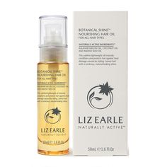 Liz Earle Botanical Shine Hair Oil 50ml - Feelunique