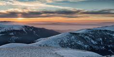 Sunset on Aigidik peak in Rila Mountain, Bulgaria by Radoslav Stoilov