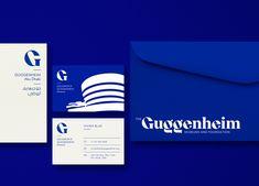 Guggenheim Museums and Foundation rebranding / : 네이버 블로그 Guggenheim Abu Dhabi, Guggenheim Bilbao, Museum Identity, Museum Branding, Type Logo, 2 Logo, Identity Design, Visual Identity, Brand Identity