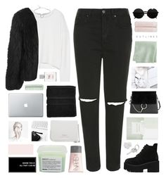 """""""// I • Can • Go • For • That //"""" by lion-smile ❤ liked on Polyvore featuring Topshop, McCoy Design, Thrive, Helmut Lang, Balenciaga, CB2, Christy, Chloé, Versace and NARS Cosmetics"""