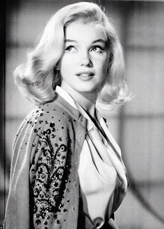 Marilyn Monroe in a hair test for The Misfits in 1960.