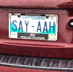 You know you're behind a dentist's car when... #dentistry