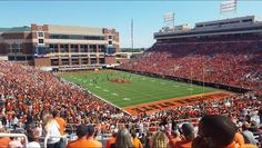 Video: Oklahoma State Last Home Game Of The Season vs. Texas Tech