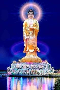Buddha Idol, Buddha Life, Buddha Art, Buddhism Wallpaper, Buddha Wallpaper Iphone, Banner Background Hd, Amitabha Buddha, Mahayana Buddhism, Download Wallpaper Hd