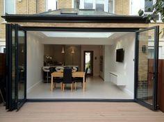 Samuel Gray Gardens extension - contemporary - Dining Room - London - Urban Jungle Construction
