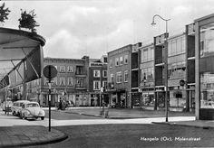 De Molenstraat in Hengelo omstreeks 1962