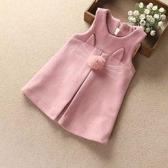 57 Design de moda na moda para crianças bebê - Nähen kids - Fashion Design For Kids, Kids Fashion, Trendy Fashion, Fashion Styles, Fashion Clothes, Little Girl Dresses, Girls Dresses, Baby Dress Design, Baby Design
