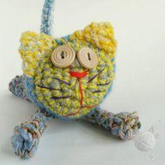 Kot z wełny, autor: Sankowo