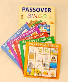 Passover Bingo! Enter to win one on Kveller.