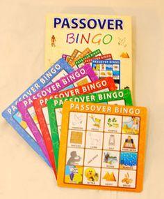 Passover Bingo! Enter to win one on Kveller.