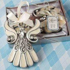 Shimmering Angel Ornaments, Communion Angel Favors