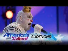 "WATCH: Sad Clown Stuns Crowd with Sia's ""Chandelier"" on America's Got Talent 2017 | Pinoy Ambisyoso"