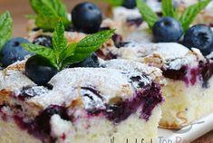 Borůvková bublanina jako pavučinka - snadnevareni Raspberry Smoothie, Apple Smoothies, Baking Recipes, Cake Recipes, Dessert Oreo, Pie Tops, Pudding Desserts, Blueberry Cake, Cake Toppings