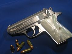 Walther PPK.......The old Bond gun.