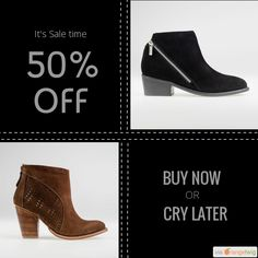 We are happy to announce 50.00% OFF on our Fabulous Collection of Ankle Boots and Shoes. Coupon Code: discount50.    Expiry: 8-May-2017.  Click here to avail coupon: https://small.bz/AAZE0mw #musthave #loveit #instacool #shop #shopping #onlineshopping #instashop #instagood #instafollow #photooftheday #picoftheday #love #OTstores #smallbiz #sale #coupon                        Follow us on https://www.facebook.com/Forever-Love-Me-London