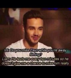 Awww>>> but Liam wouldn't know for sure who it is because he dosnt Zayn's number saved