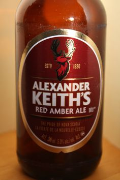 Alexander Keith's - Red Amber Ale
