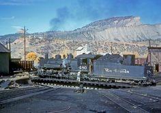 Rio Grande Durango, Colorado, ca. By John West Work Train, Train Art, Old Steam Train, Durango Colorado, Railroad Pictures, Train Route, Railroad Photography, Old Trains, Train Engines