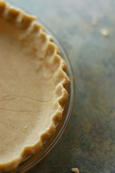 Gluten-Free Pie Crust   16 oz gf flour blend  2 tsp xanthan gum  1/4 tsp guar gum  1/2 tsp kosher salt  5 Tbsp butter, cold  4 Tbsp leaf lard, cold (or more butter)   1 large egg  3 plus 3-5 Tbsp ice-cold water