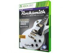 Rocksmith 2014: All New Edition para Xbox 360 - Ubisoft com as melhores condições você encontra no Magazine 1muitomais. Confira!