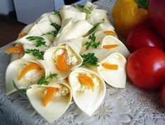 Kytica  zo syra a šalátu