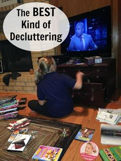 The VERY Best Kind of Decluttering at ASlobComesClean.com