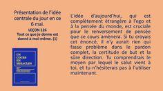 Leçon 126 - Énoncé et pratique by Pierrot Caron via slideshare