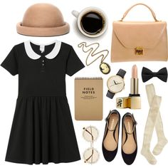 Untitled by hanaglatison on Polyvore featuring Monki, Wigwam, Mark Cross, Nixon, Cameo, River Island and Sunday Riley