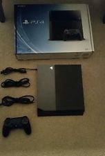 Sony PlayStation 4 (Latest Model)- 500 GB Black Console with 5 games and headset