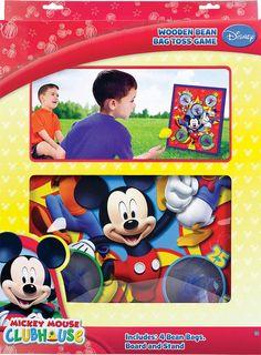 Mickey Mouse Bean Bag Toss Game | 1 ct @ Zurchers