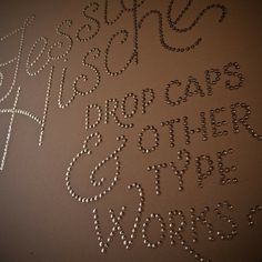 DIY Thumb tacks wall quote! I have to do this on my wall someday