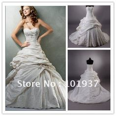 Hot half sleeves winter wedding dress 2012-in Wedding Dresses from Apparel & Accessories on Aliexpress.com