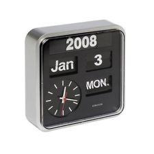 Karlsson Retro Square AutoFlip Wall Clock Calendar