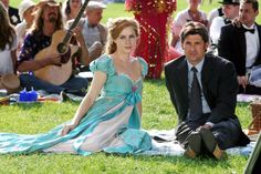 Amy Adams and Patrick Dempsey: Amy Adams was perfectly cast as a live action princess in Disney's Enchanted. The actress delighted audiences with her charming portrayal of Giselle, a storybook princess who ends up in New York City.