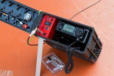 Ham radio GoBox in 25mm ammo can