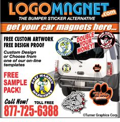 This Is A Great Example Of A Car Magnet That Could Be Used For - Custom car magnets for fundraising
